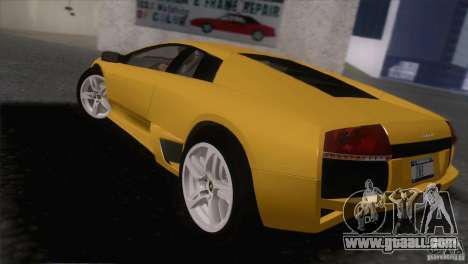 Lamborghini Murcielago LP640 2006 V1.0 for GTA San Andreas left view