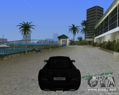 Mercedess Benz SL 65 AMG Black Series for GTA Vice City left view