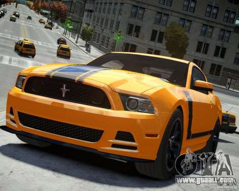 Ford Mustang Boss for GTA 4