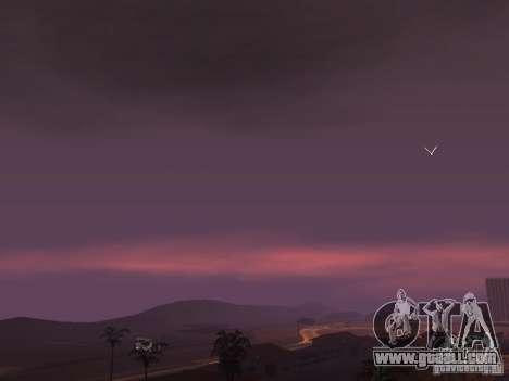 Timecyc - Purple Night v2.1 for GTA San Andreas