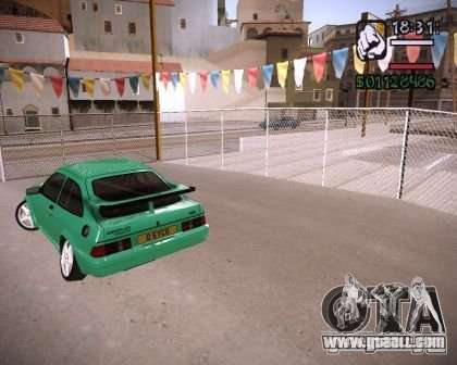 Ford Sierra Drift for GTA San Andreas right view