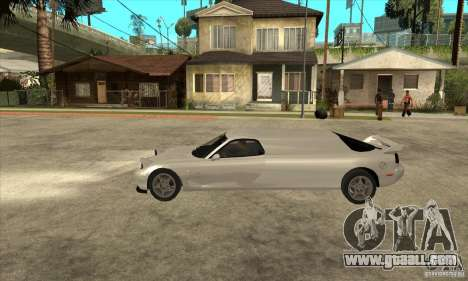 Mazda RX-7 Limousine for GTA San Andreas left view