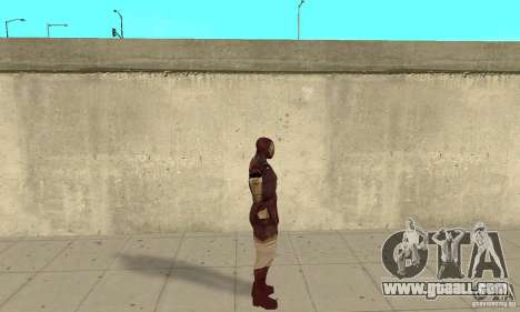 Ironman Mod for GTA San Andreas second screenshot