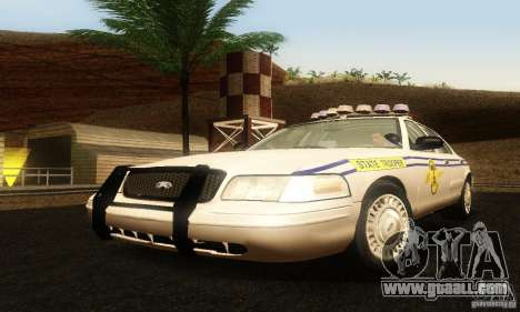 Ford Crown Victoria South Carolina Police for GTA San Andreas