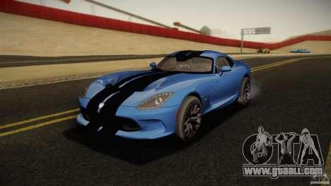 Dodge Viper GTS 2013 for GTA San Andreas