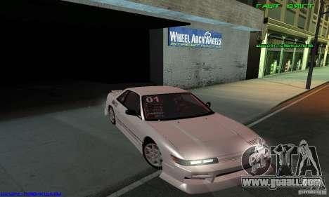 Nissan Silvia S13 Tunable for GTA San Andreas wheels