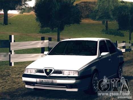 Alfa Romeo 155 1992 for GTA San Andreas left view