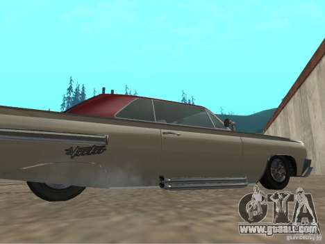 Voodoo from GTA 4 for GTA San Andreas back left view