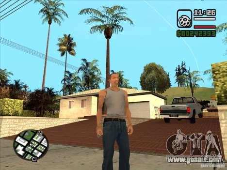 White Cj for GTA San Andreas