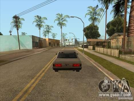 Graduated braking car for GTA San Andreas