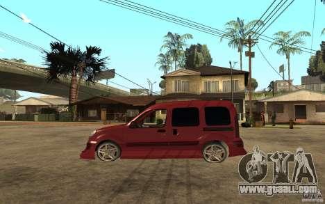 Renault Kangoo Tuning for GTA San Andreas left view