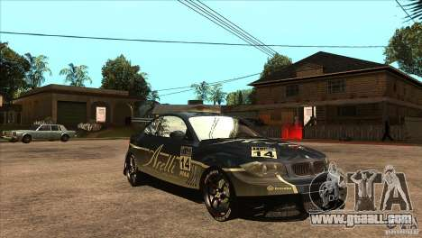BMW 135i Coupe GP Edition Skin 3 for GTA San Andreas back view