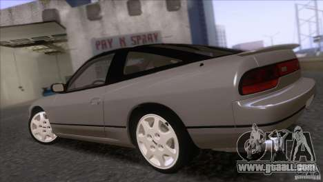 Nissan Sil80 for GTA San Andreas left view