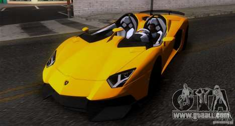 Lamborghini Aventador J TT Black Revel for GTA San Andreas