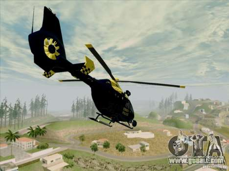 Eurocopter EC-135 Essex for GTA San Andreas left view