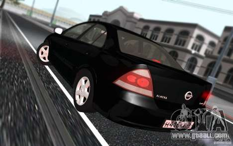 Nissan Almera Classic for GTA San Andreas inner view