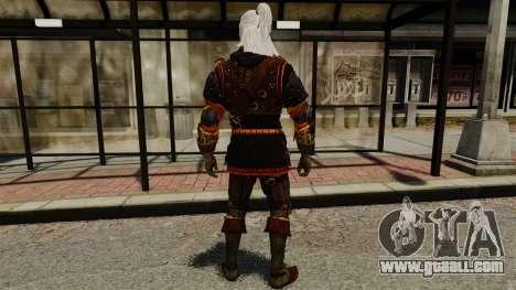 Geralt of Rivia v2 for GTA 4 third screenshot