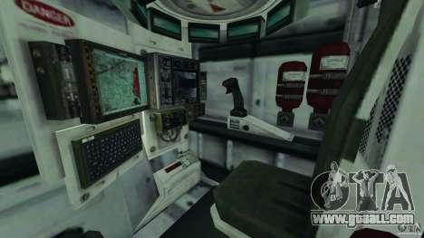 Stryker M1128 Mobile Gun System v1.0 for GTA 4 inner view