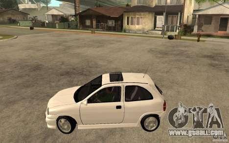 Opel Corsa GSI 16V for GTA San Andreas left view