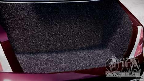 Maserati Quattroporte V for GTA 4 upper view