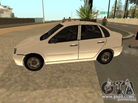 Lada Kalina for GTA San Andreas left view