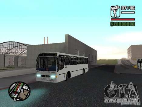 Busscar Urbanus SS Volvo B10M for GTA San Andreas left view