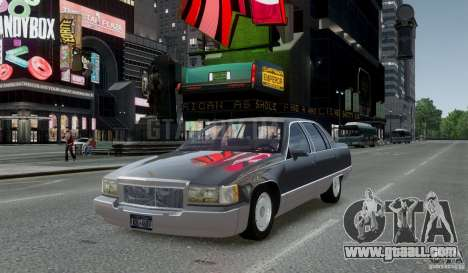 Cadillac Fleetwood 1993 for GTA 4 back left view
