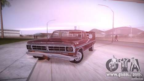 Ford F-100 1981 for GTA Vice City