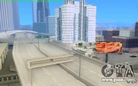 Concrete roads of Los Santos Beta for GTA San Andreas seventh screenshot