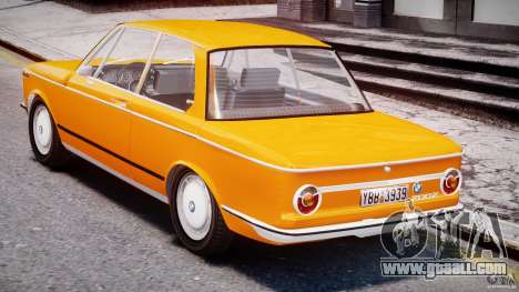 BMW 2002 1972 for GTA 4 right view