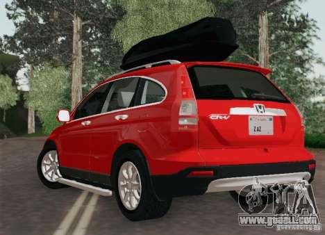 Honda CRV 2011 for GTA San Andreas left view