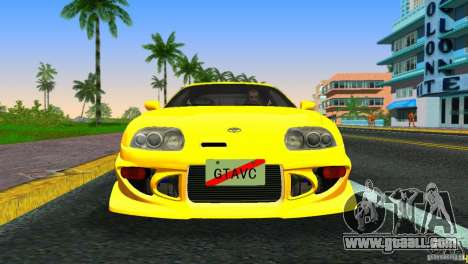 Toyota Supra JZA80 C-West for GTA Vice City left view
