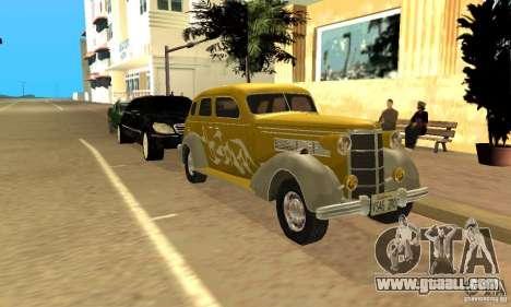 Ford DeLuxe Fordor Sedan V8 1938 for GTA San Andreas