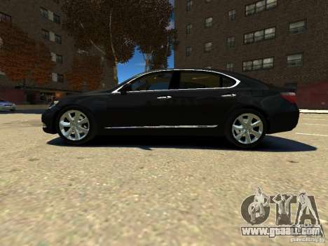 Lexus LS600 V2.0 for GTA 4 left view