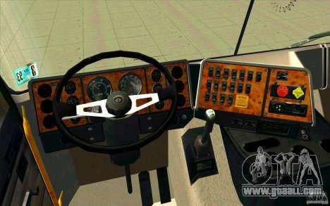 Navistar International 9800 for GTA San Andreas back view
