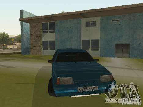 VAZ 21093 Tuning for GTA San Andreas back view