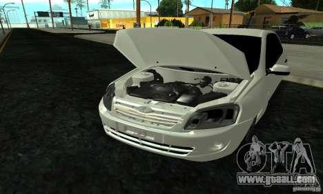 Lada 2190 Granta for GTA San Andreas side view