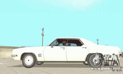 Pontiac LeMans 1971 for GTA San Andreas back left view