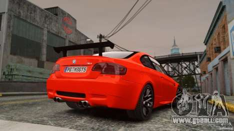 BMW M3 GTS Final for GTA 4 left view