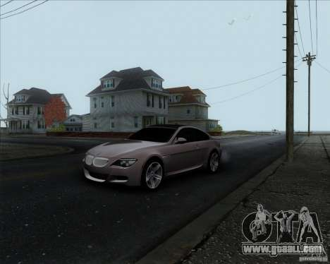 BMW 6 Series M for GTA San Andreas