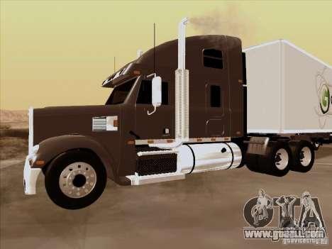 Freightliner Coronado for GTA San Andreas left view