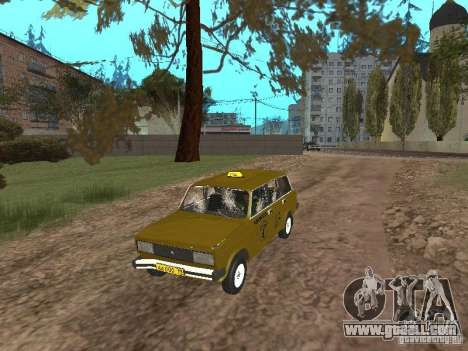 VAZ 2104 Taxi for GTA San Andreas inner view