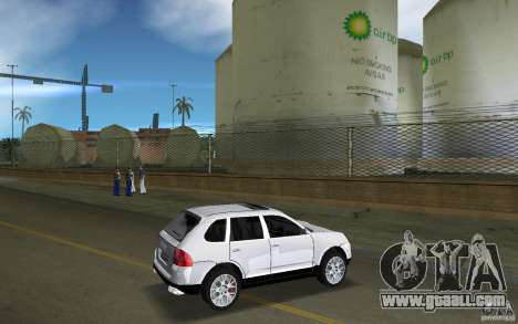 Porsche Cayenne for GTA Vice City right view