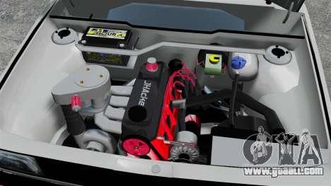 Volkswagen Saveiro 1990 Turbo for GTA 4 inner view