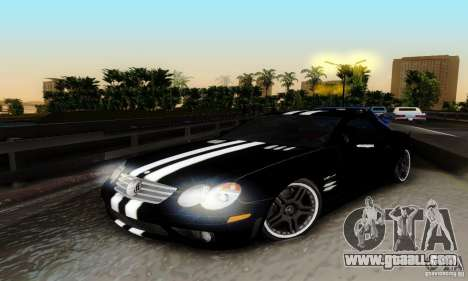 Mercedes Benz SL 65 AMG for GTA San Andreas side view