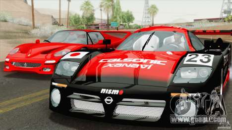 Nissan R390 GT1 1998 v1.0.1 for GTA San Andreas