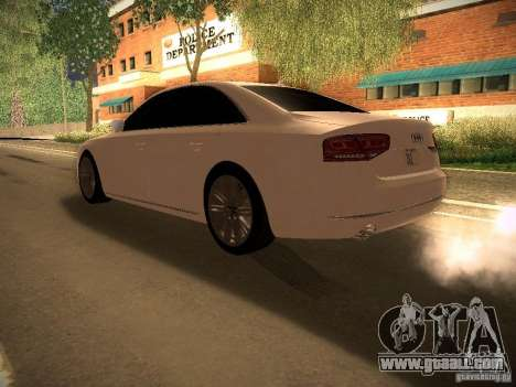 Audi A8 2010 for GTA San Andreas left view