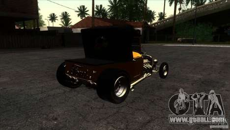 Ford T 1927 Hot Rod for GTA San Andreas right view