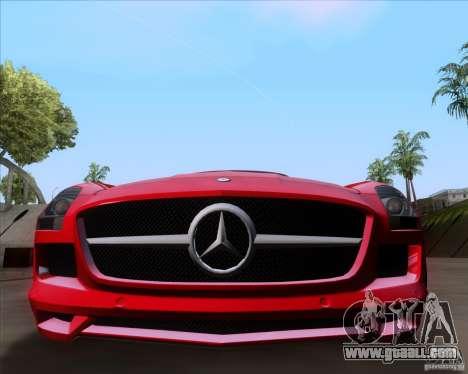 Mercedes-Benz SLS AMG V12 TT Black Revel for GTA San Andreas back left view