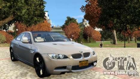 BMW M3 E92 2008 v1.0 for GTA 4